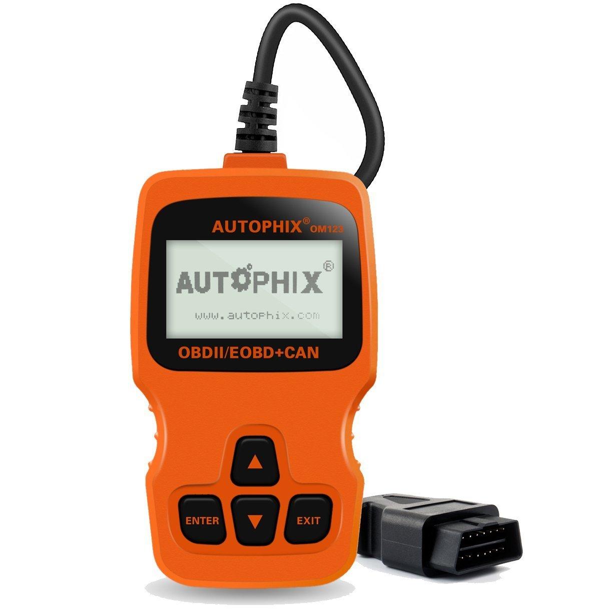 Autophix OBD2 Diagnosegerät, Auto code reader zum Lesen und Löschen ...