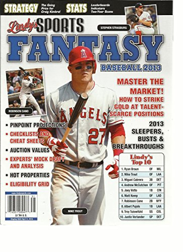 Scarce Type (LINDY'S SPORTS FANTASY BASEBALL 2013, HOW TO STRIKE GOLD AT TALENT-SCARCE POSITI)