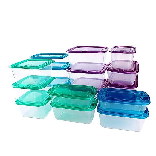 Paquete Premium 17 Recipientes PreparacióN Comida Reutilizables ...