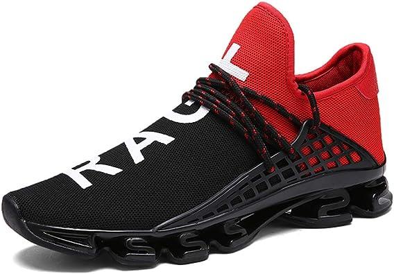 Zapatillas de correr para hombre de Airaata, para el gimnasio, tiempo libre, transpirables, para senderismo, para el aire libre: Amazon.es: Zapatos y complementos