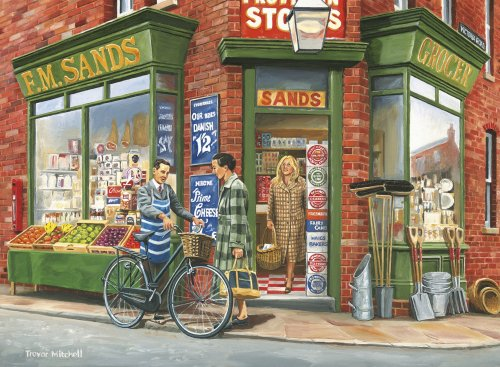 Ravensburger - Open All Hours 2 x 500 piece jigsaw puzzles