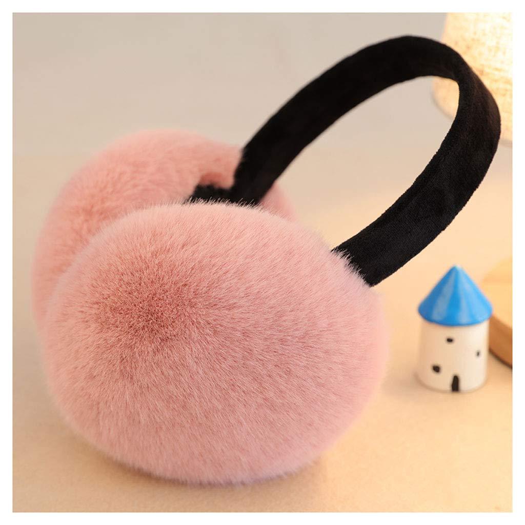 Colore : A Paraorecchie CHENGYI Cuffie Unisex per Orecchio Cuffie pelose per Un Orecchio Morbido Tenere al Caldo Invernale