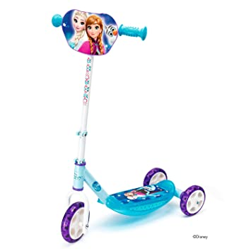 Smoby-Patinete 3 Ruedas Frozen 2 750181, Color Azul ...