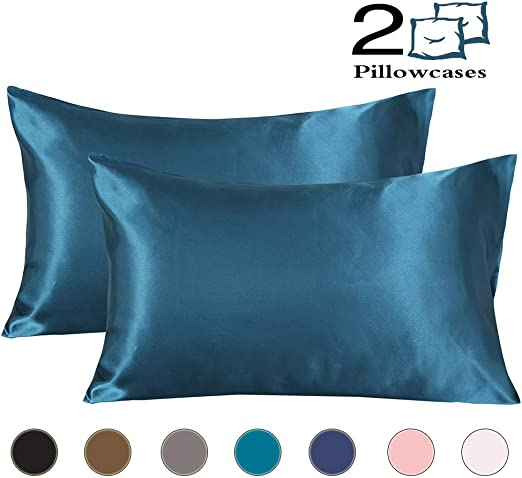 Amazon Com Coverify Satin Pillowcase Super Soft Silky Luxury
