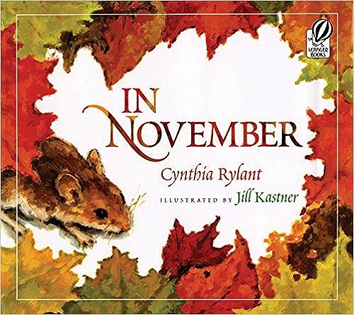 Image result for in november book