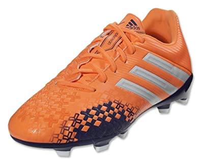 a0dcadf03b64 adidas New Women's P Absolado LZ TRX FG Soccer Cleats Orange/Wht/Purple 5