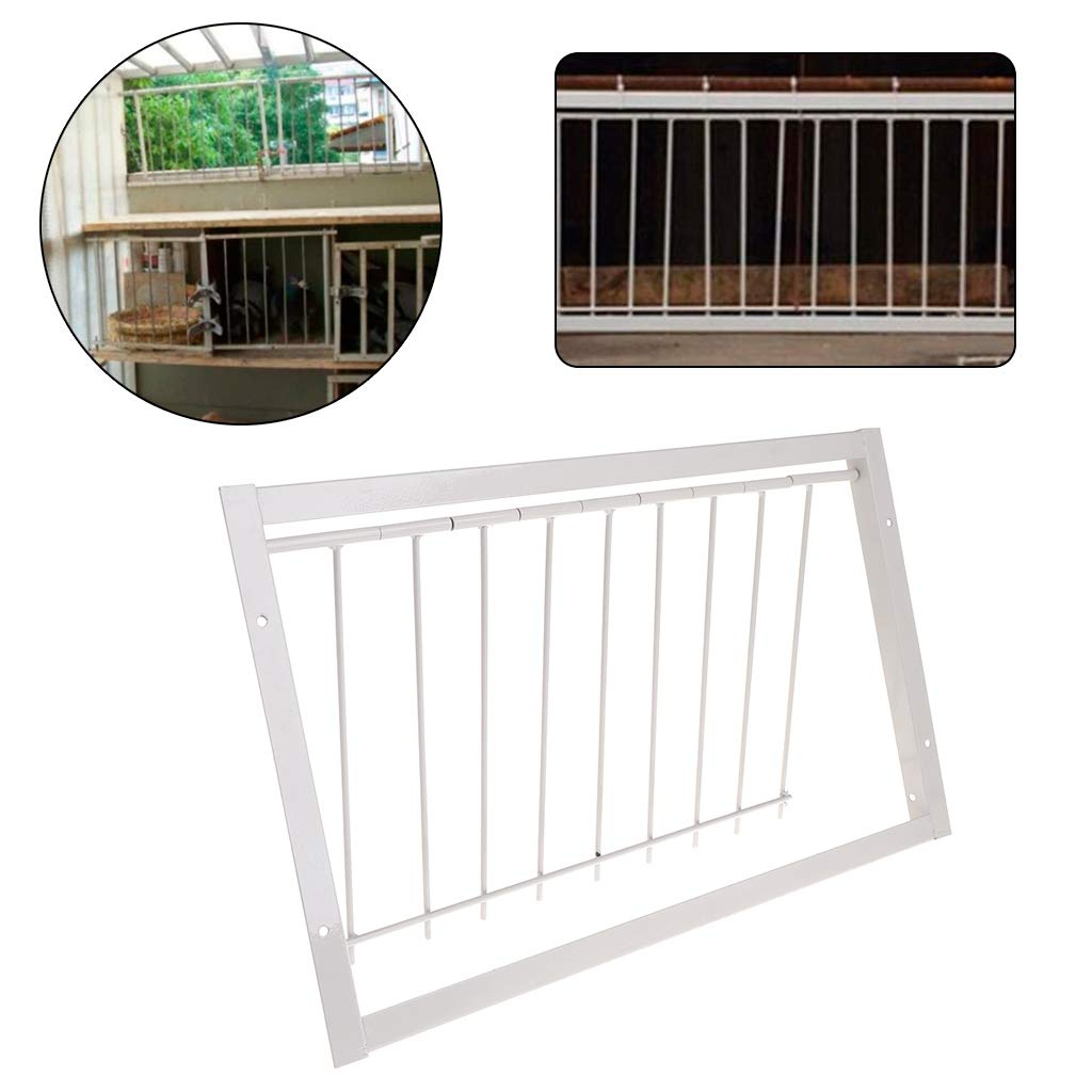Abicial Pigeon Supplies Trap Door, Pigeon Door Wire Bars Frame Entrance Trapping Doors Loft Supplies Racing Birds Catch Bar by Abicial