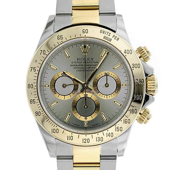 Rolex Daytona Automatic-Self-Wind 16523 - Reloj de Pulsera para Hombre (Certificado