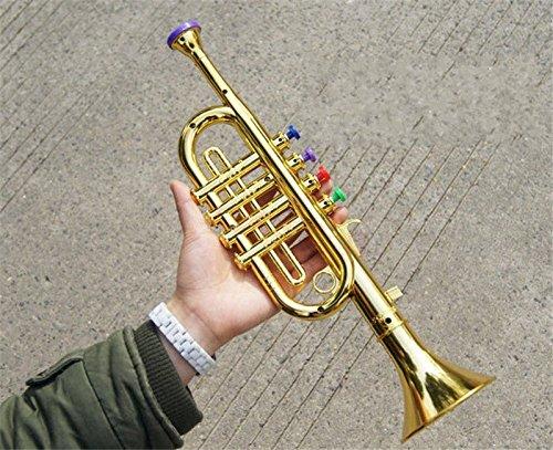 Emulational trumpet childrens developmental instrument