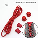 StudentsZone No-Tie Elastic Shoelaces Adjustable for All Shoes and Sizes 14 Laces Per Package