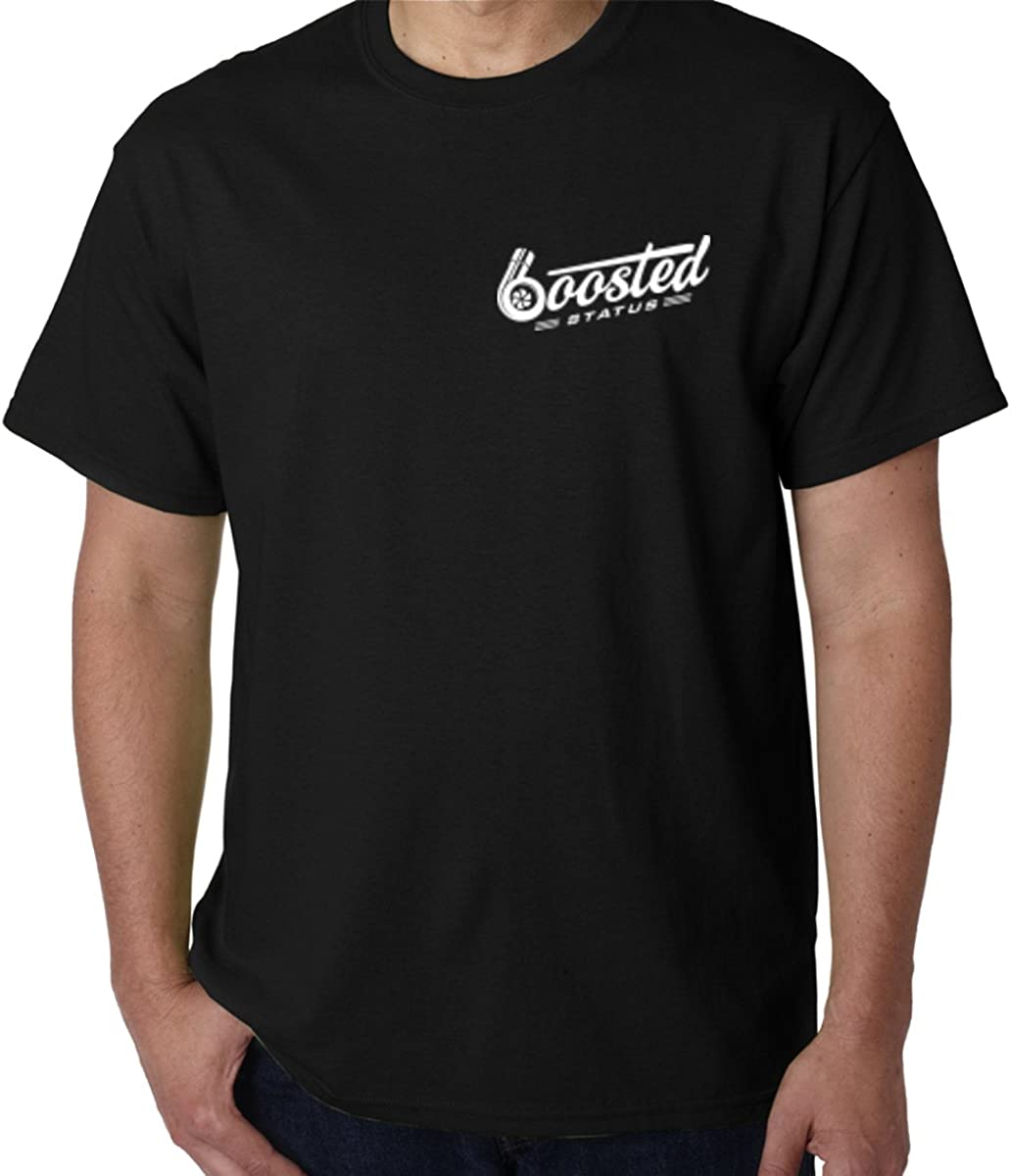 Black Boosted Status T-Shirt