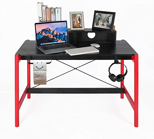 OKL Computer Desk 42'' Home Office Writing Study Desk Modern Style Laptop Table