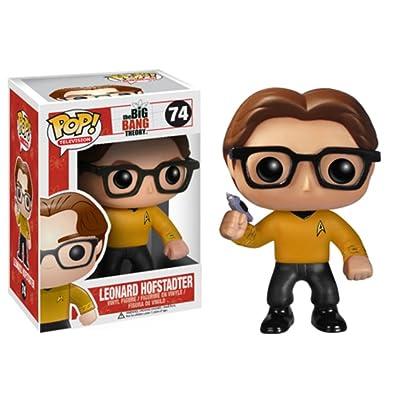 Funko POP Television Leonard Star Trek Vinyl Figure: Toys & Games