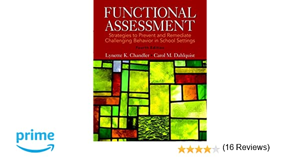 Functional Assessment: Strategies to Prevent and Remediate ...