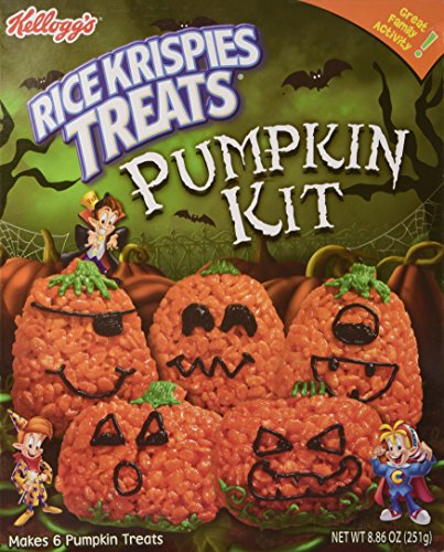 Rice Krispies Treats Pumpkin Kit (Crafty Cooking Kits) -
