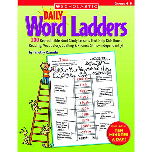 (SCHOLASTIC TEACHING RESOURCES DAILY WORD LADDERS GR 4-6 (Set of 3))