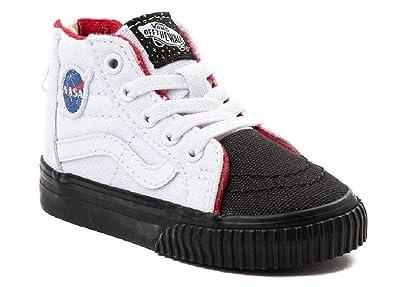 Amazon.com | Vans Infant Toddler X NASA Space Voyager SK8-Hi MTE Zip ...