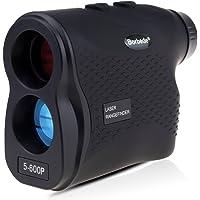 Laser Rangefinder Golf Hunting Telescope 600m(656yards) Laser Distance Meter with Speed Scan Fog Measurement,Black