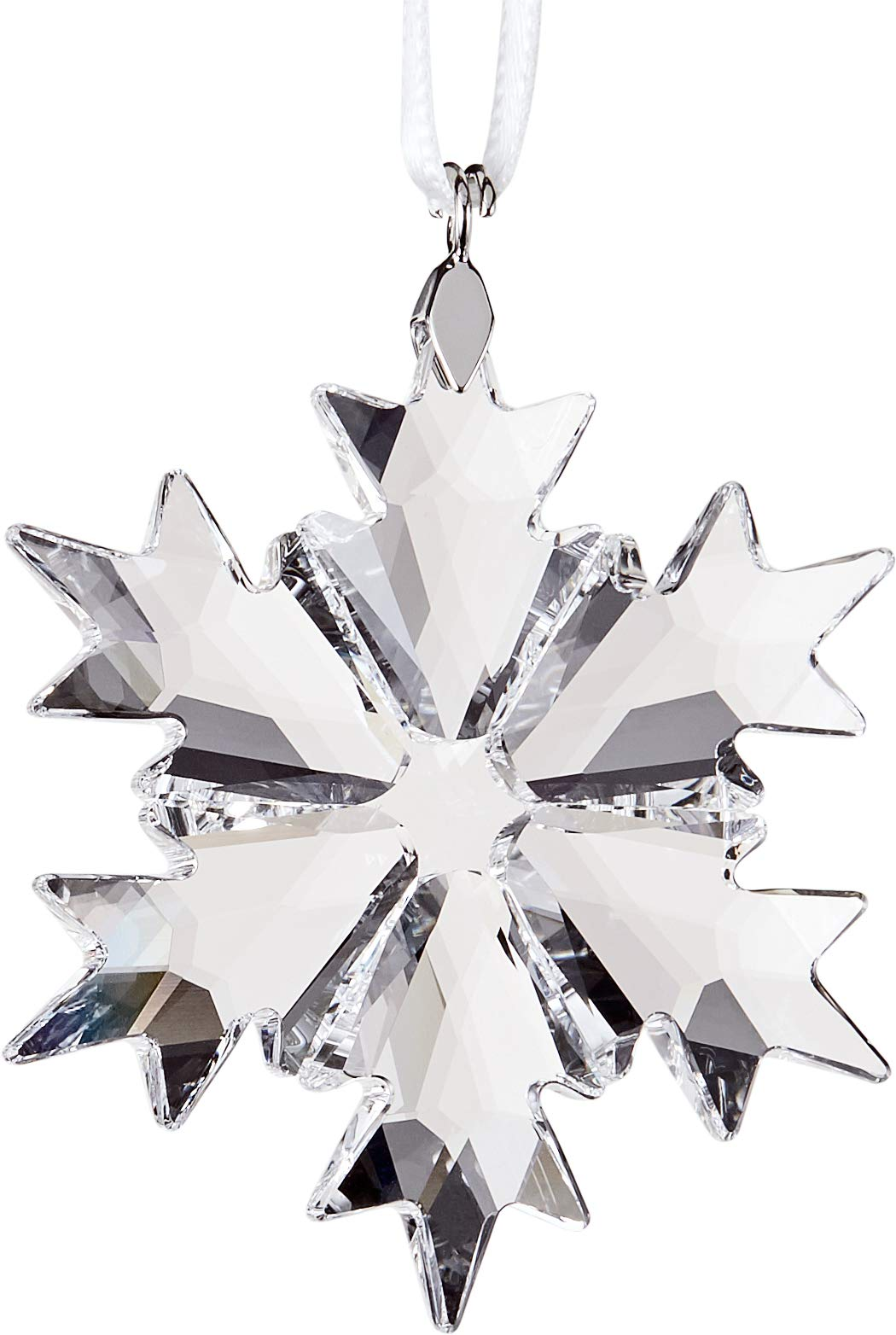 Swarovski Little Snowflake Ornament Small Clear Crystal