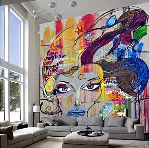 Heimwerker Abstract Paintings 3d Full Wall Mural Photo Wallpaper Printing Home Kids Decor Farben Tapeten Zubehor