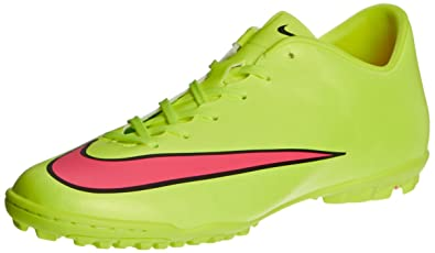 Nike Mercurial Victory V Tf, Men's Football Competition Shoes, Yellow  (Volt/Hyper