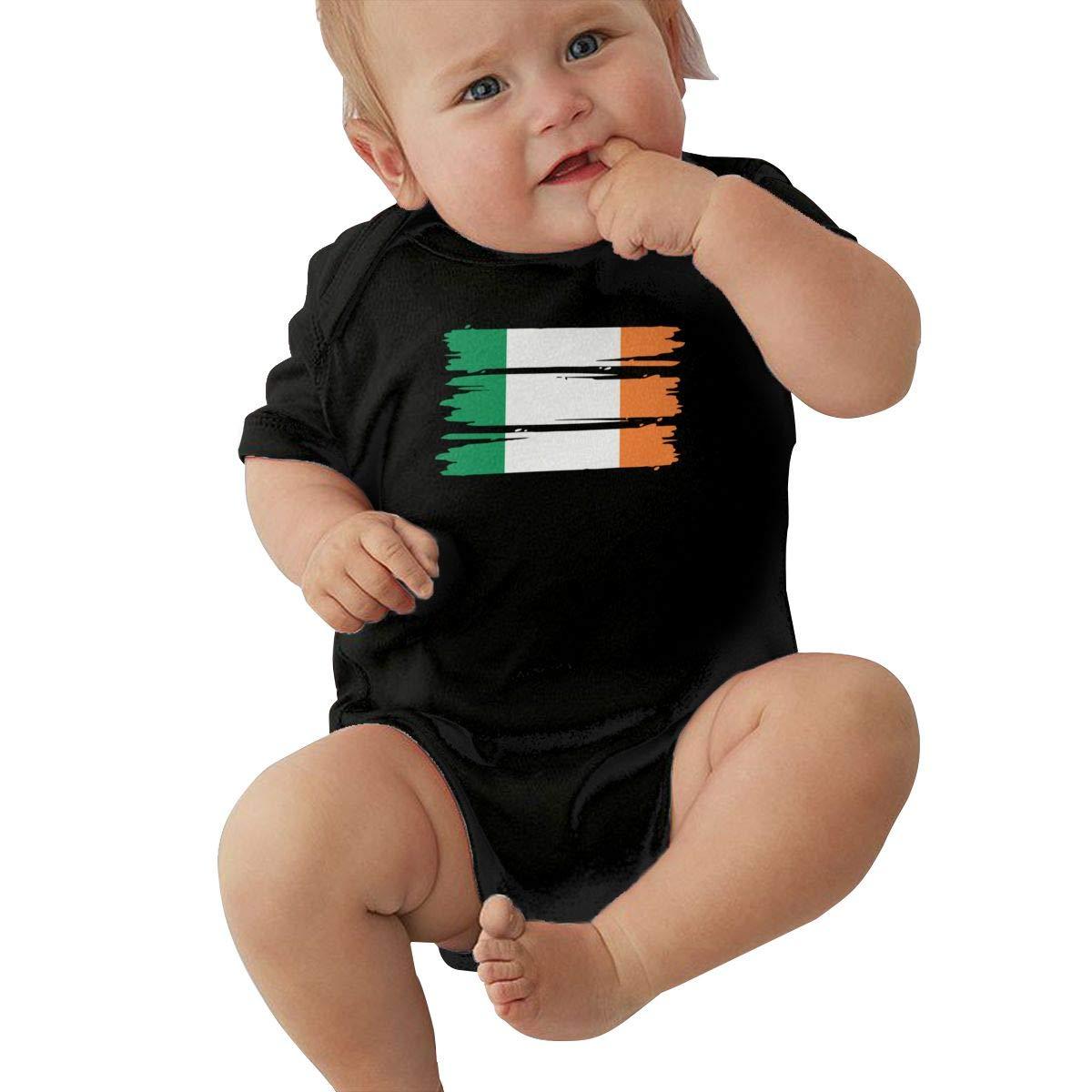 Suit 6-24 Months TAOHJS97 Baby Boys Irish Flag Short Sleeve Climbing Clothes Pajamas Sleepwear