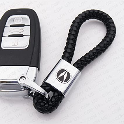 Amazoncom For Acura Logo Emblem Key Chain Key Ring Metal Alloy BV - Acura emblem black