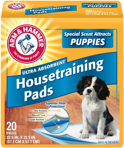 Arm & Hammer Floor Protection Pads, 20-Count (Pack of 2)