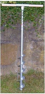 9cm Durchmesser Erdbohrer