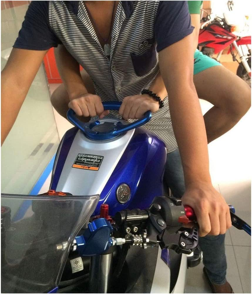 Color : Black For Yamaha YZF-R1 YZF-R6 1994-2014 YZF-R3 Motorcycle Passenger Handgrips Hand Grip Tank Grab Bar Handles Armrest Cycling retail
