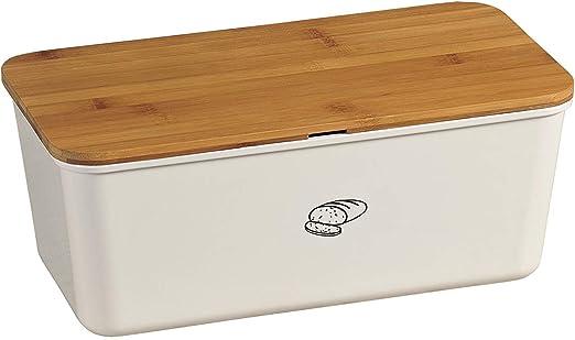 Kesper Brotbox - Panera para Guardar el Pan y para cortarlo ...