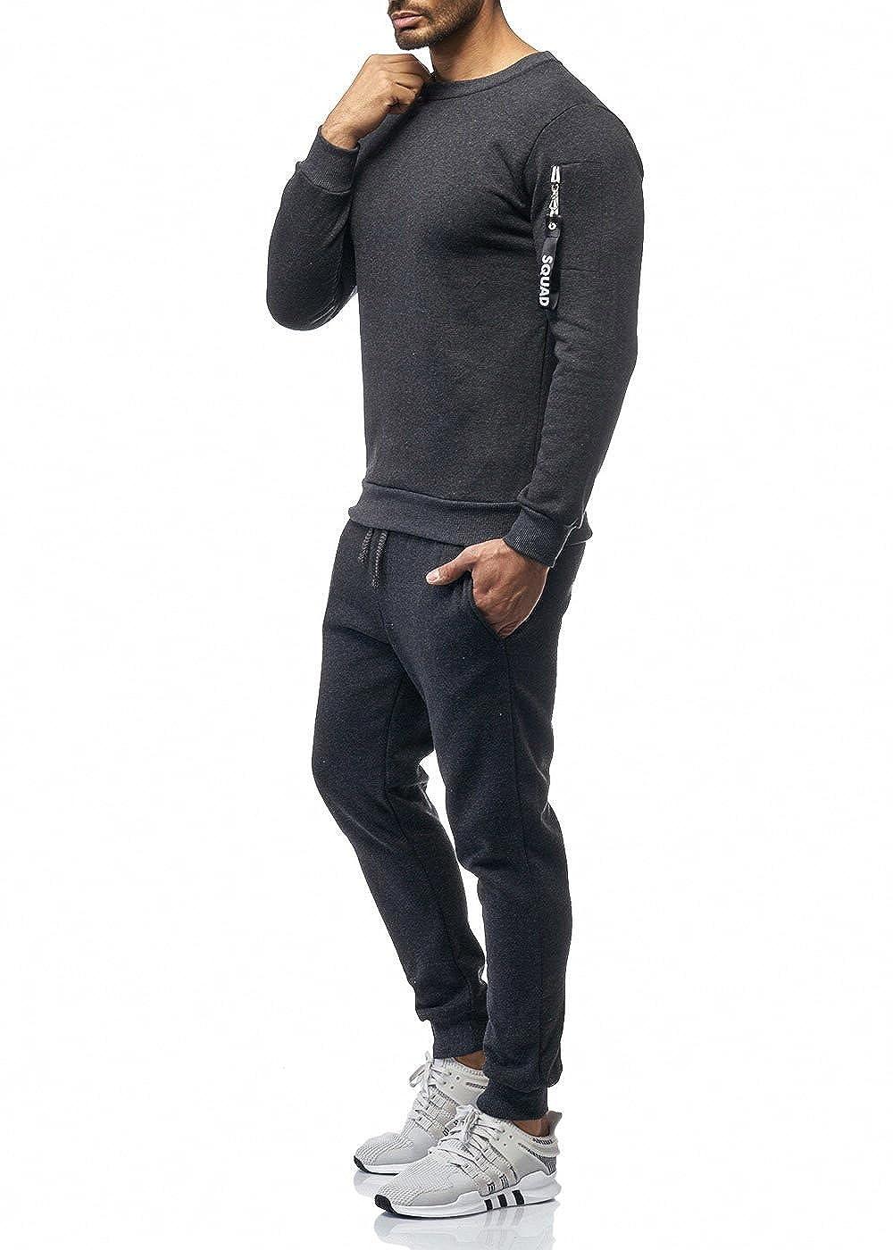 d90be7c24ffd0 OneRedox Herren Jogginganzug Sportanzug Modell 962 Streetwear