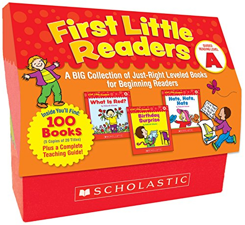 Kindergarten Level Reading - First Little Readers: Guided Reading Level A: A Big Collection of Just-Right Leveled Books for Beginning Readers