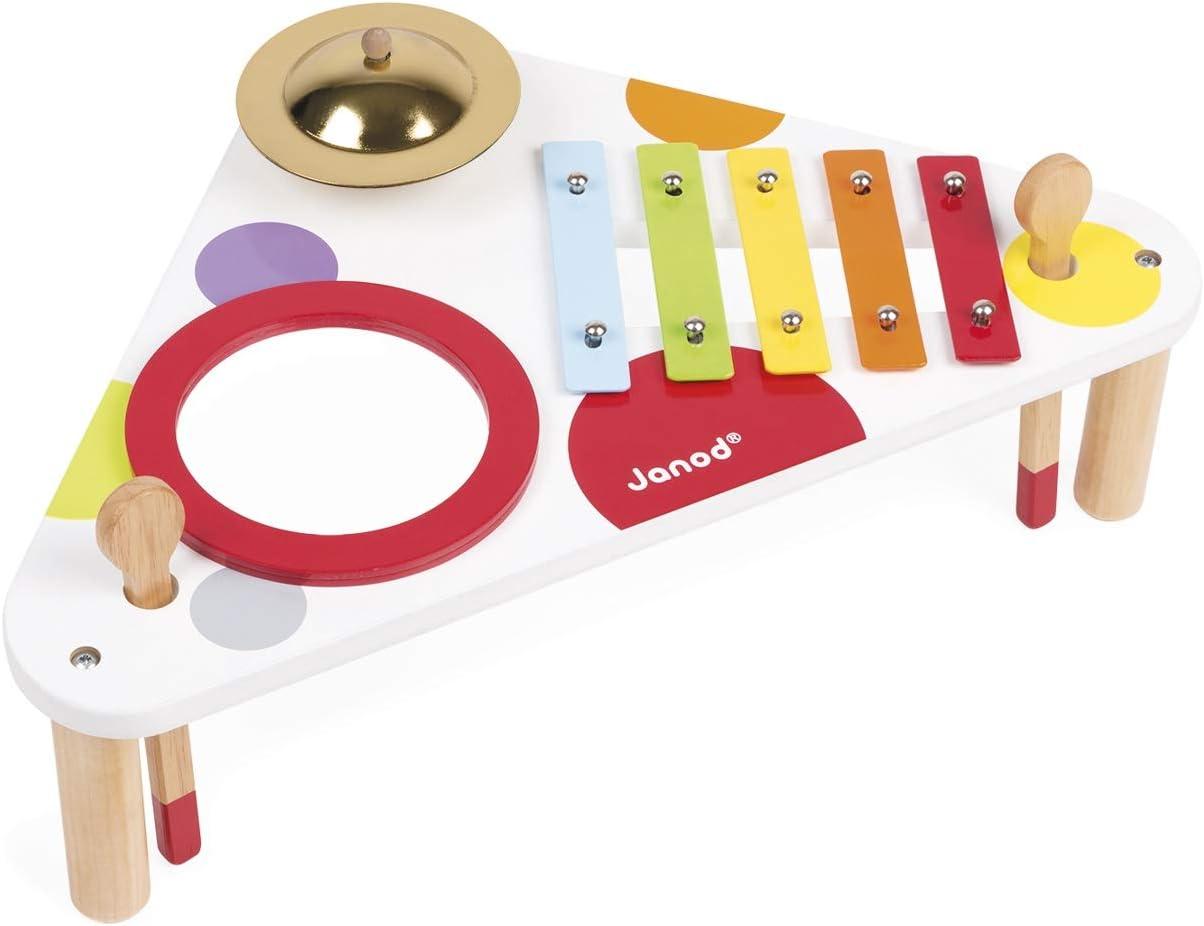 Janod Konfetti Musiktisch | Brainbow Toys