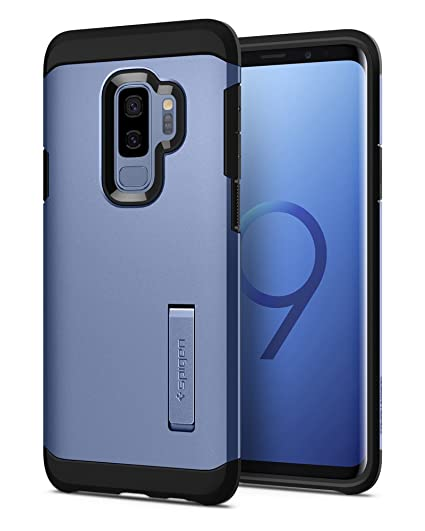 the best attitude a02be 3bffd Spigen Tough Armor Designed for Samsung Galaxy S9 Plus Case (2018) - Coral  Blue