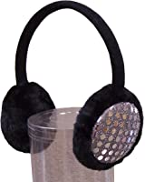 N'Ice Caps Girls Sequin Trimmed Adjustable Ear Muffs