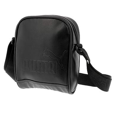 b1e254d654 Puma - Om urban portable blk - Sacoche pochette bandouliére - Noir - Taille  Unique: Amazon.fr: Vêtements et accessoires