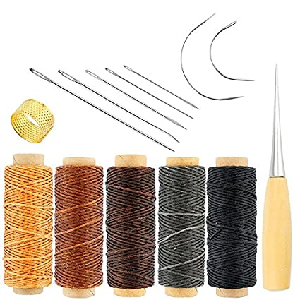 Amazon Com 14 Pcs Hand Sewing Needles Carpet Upholstery Leather