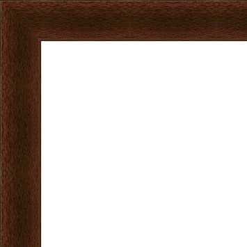 Amazon.com : Flat Dark Cherry Wood Frame- \