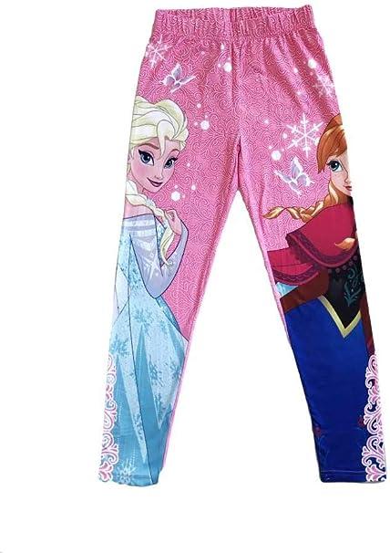 Amazon.com: Disney Frozen Princesa Elsa y Anna Leggings de ...