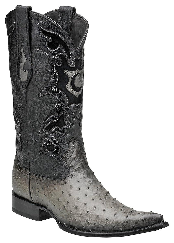Cuadra Full Quill Ostrich Western Boots Y315A1