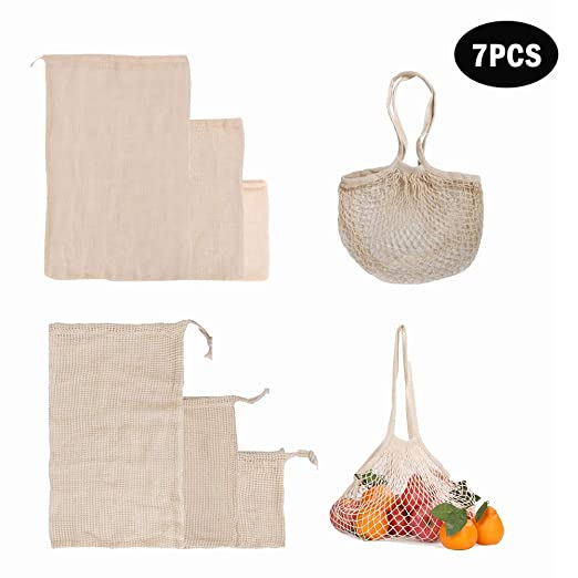 kitchen-dream Bolsas de Productos Reutilizables, Bolsas de ...