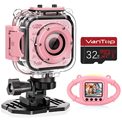 Amazon.com: VanTop Junior K3 Cámara de niños, 1080P cámara ...