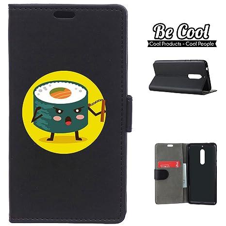 BeCool® - Funda carcasa tipo Libro para Nokia 5, protege tu Smartphone ya que se adapta a la perfección, tiene Función Soporte, ranuras para tus ...