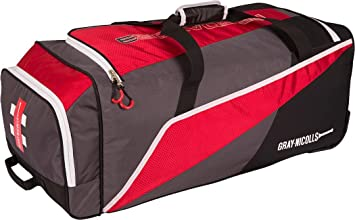 Image Unavailable. Image not available for. Colour  Gray-nicolls Predator 3  300 Luggage Cricket Sport Wheelie Kit Bag Red black  3d140574edb6e