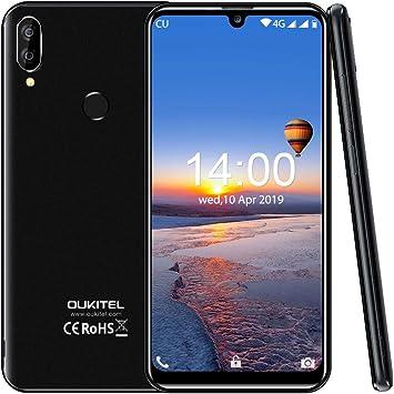 OUKITEL C16 Pro (2019) Smartphone Libres Android 9.0 Pantalla 19:9 ...
