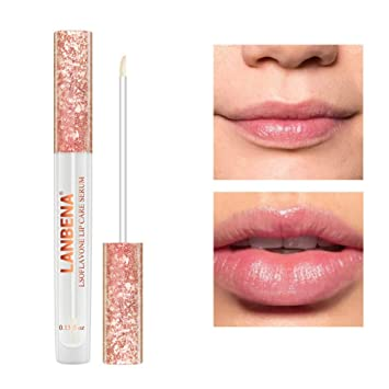 Best Lip Plumper 2020.Ofanyia Moisutrizing Lip Plumper Lip Gloss Lip Plumping Gloss Lips Enhancer Makes Your Lips Fuller Hydrated Softer And Smoother