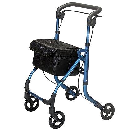 Elite Care Drift plegable andador de movilidad con ruedas: Amazon ...