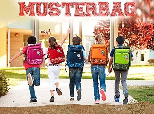 Muster bag Kids Backpack + Cross Bag Set - Trendy Camouflage Pattern School Backpacks For Girls Boys Kids Elementary Middle School Bags Cute Bookbag Outdoor Daily bag (Green) by Muster bag (Image #8)