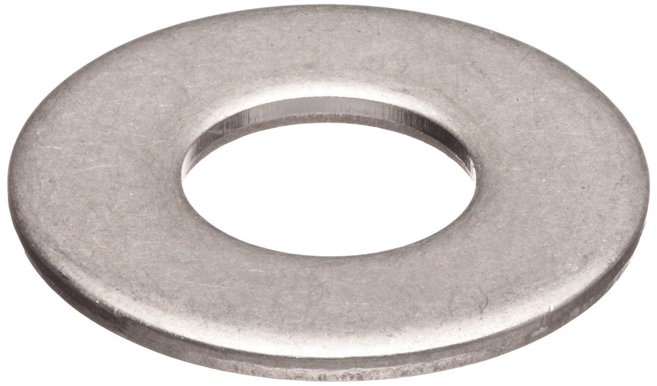 Steel Flat Washer, Zinc Plated Finish, DIN 125, Metric, M8 Screw ...